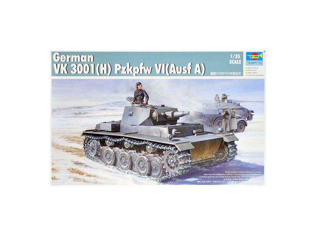 German VK 3001(H) PzKpfw VI (Ausf A) 1:35