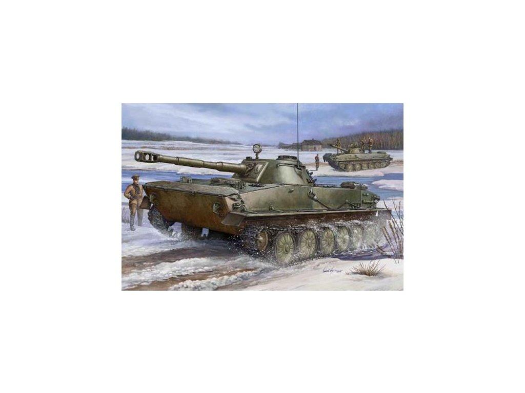 PT-76 Light Amphibious Tank 1:35