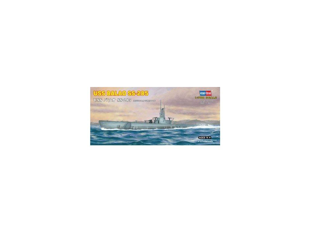 USS BALAO SS-285 1:700