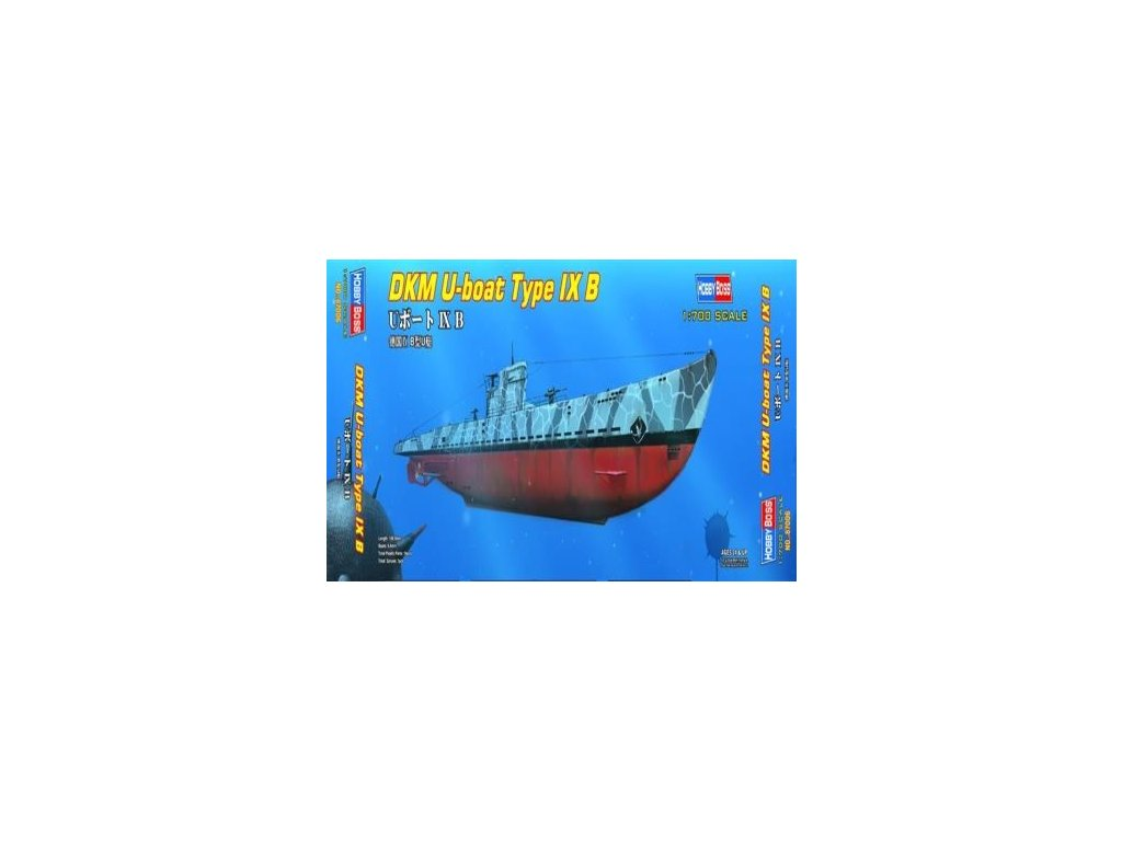 U-Boat IX B 1:700