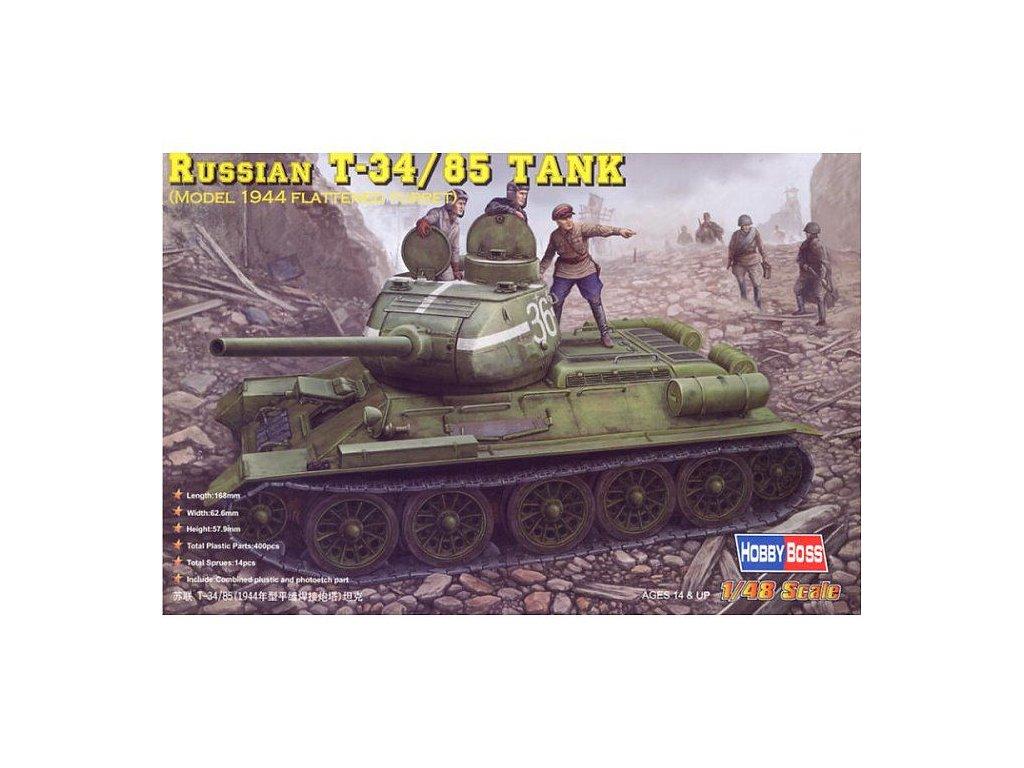 Russian T34/85 (1944) 1:48