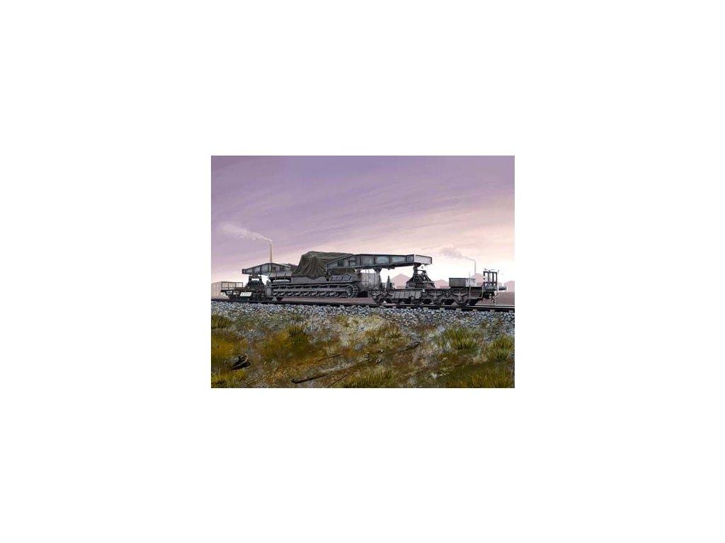 Rail Transporter for Morser Karl 1:72