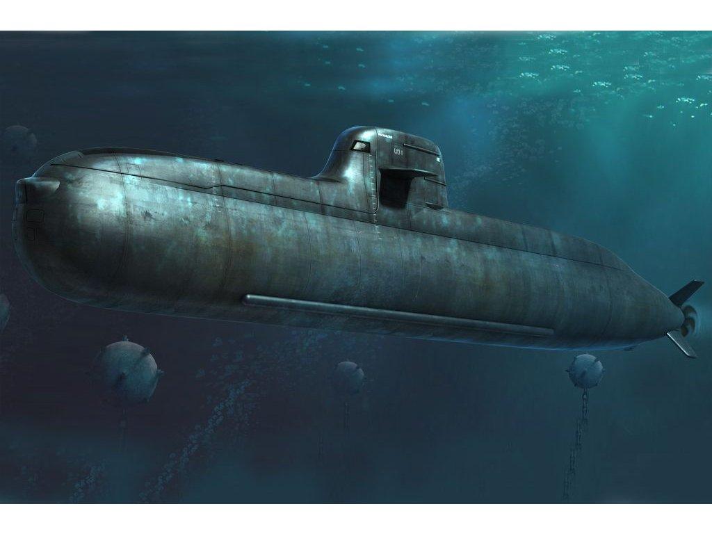 Nemecká útočná ponorka Type 212 1:350