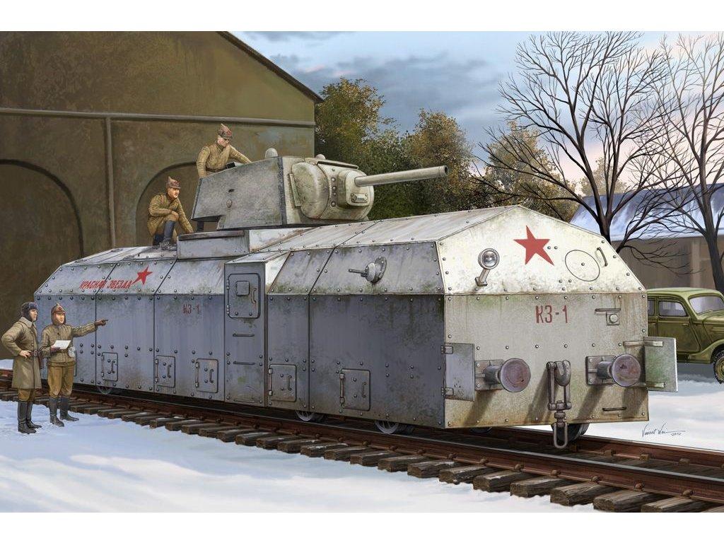 """Krasnaja Zvezda"" obrnený vlak 1:72"