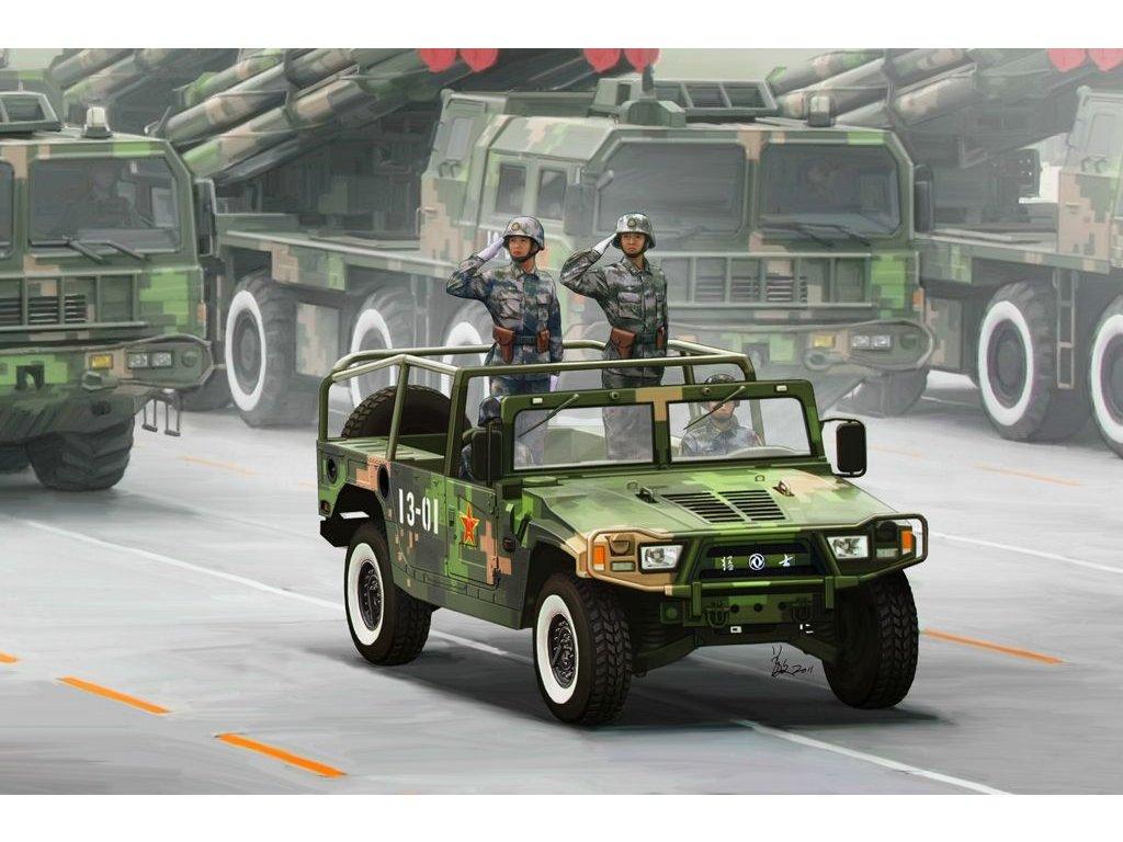 Dong Feng Meng Shi 1.5 ton Military Light Utility Vehicle- slávnostná verzia 1:35