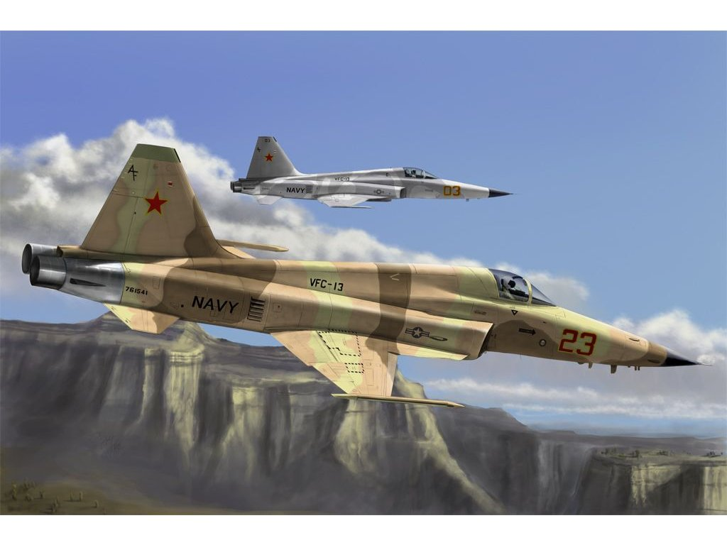 Northrop F-5E Tiger II. Re-edition 1:72