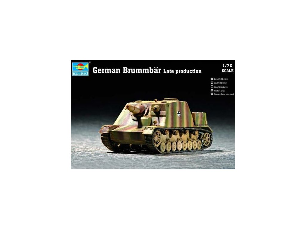 Brummbar Late production 1:72