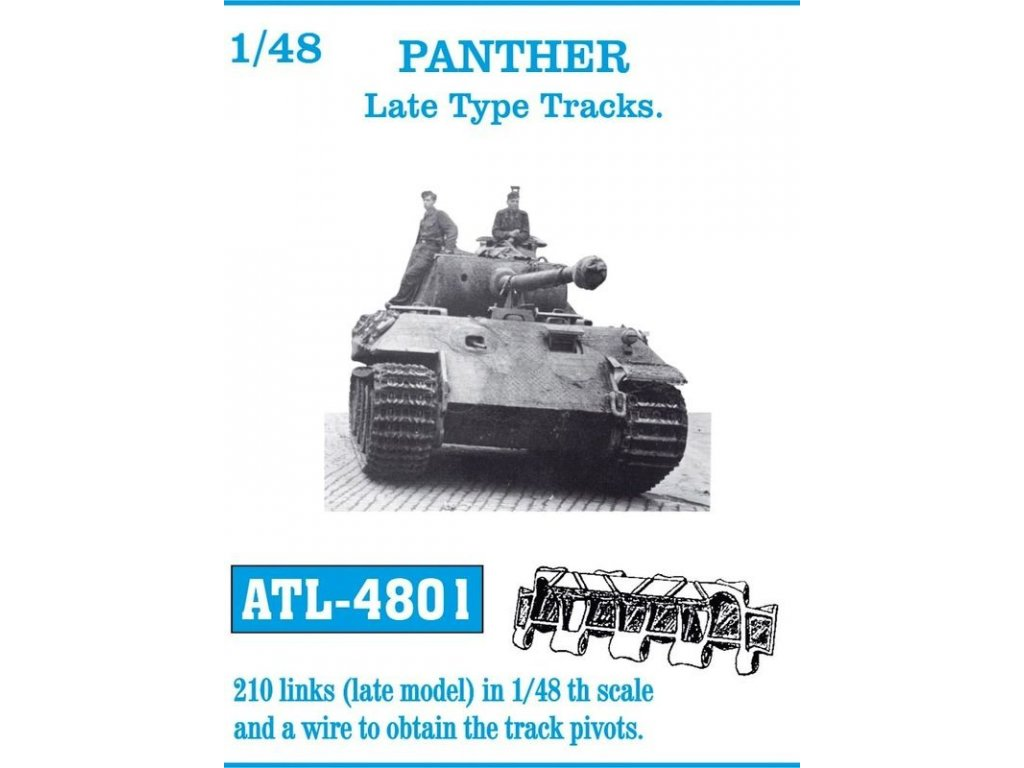 Panther Late Type Tracks 1:48