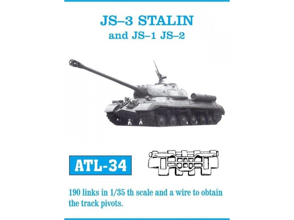 JS-1 / JS-2 / JS-3 STALIN Tracks 1:35