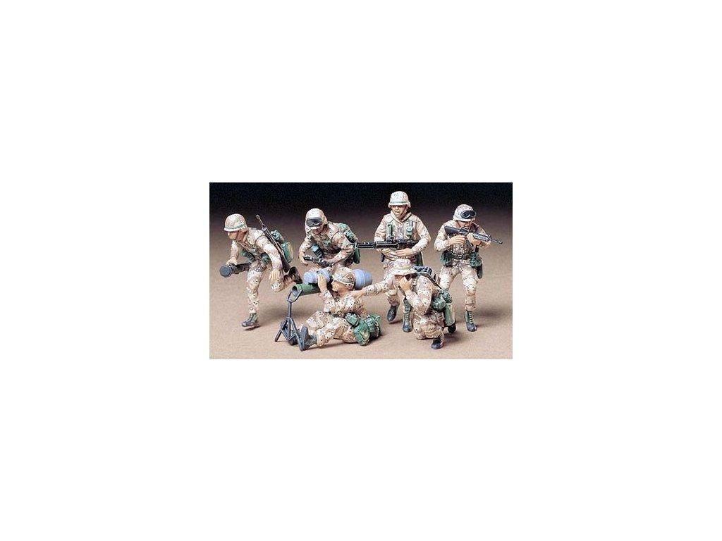 US Modern Desert Soldiers / púštna jednotka 1:35