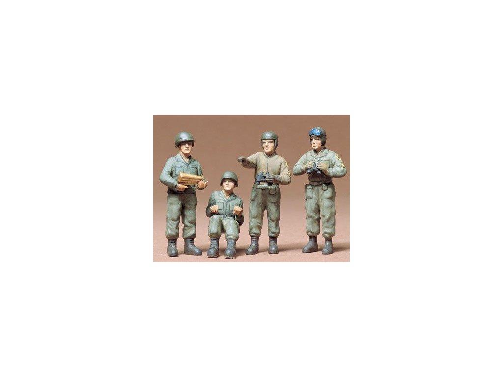 US Army Tank Crew / posádka tanku 1:35