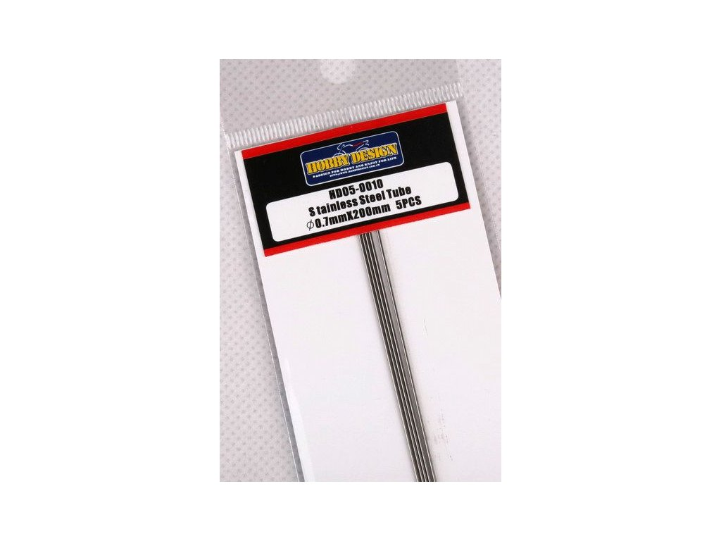 Trubice z nerezovej ocele Stainless Steel Tube 0.7mm*200mm