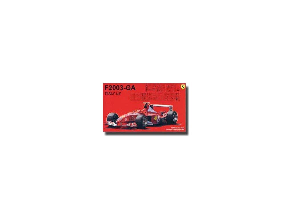 Ferrari F2003-GA Italy GP 1:20