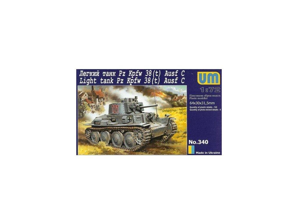 Pz. Kpfw. 38(t) Ausf. C 1:72