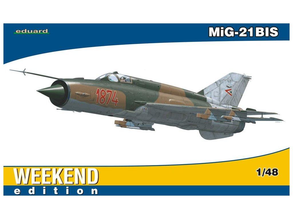 MiG-21BIS Weekend 1:48