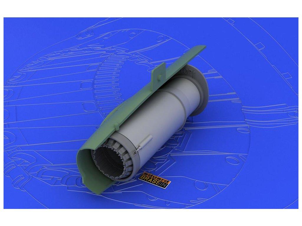 MiG-21MF/SMT vystupná tryska (Eduard) 1:48