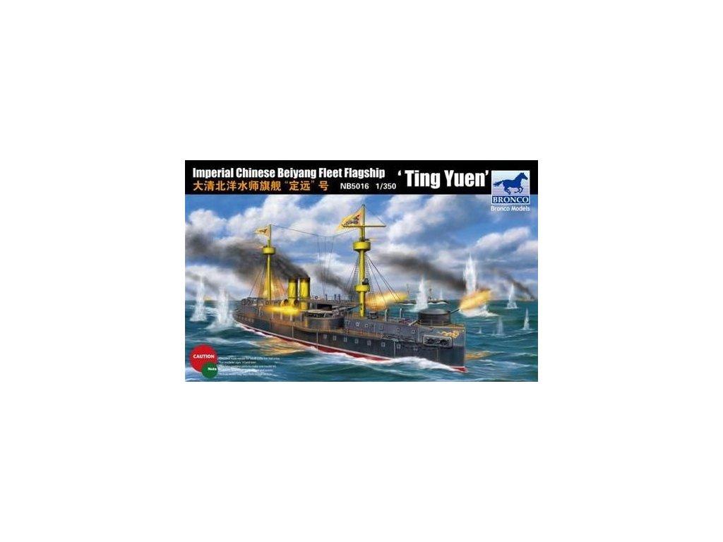 "Beiyang Fleet Flagship ""Ting Yuen"" / vlajková loď flotily Beiyang 1:350"