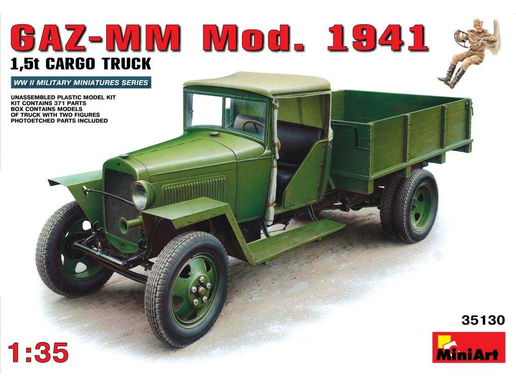 GAZ-MM mod. 1941 1:35
