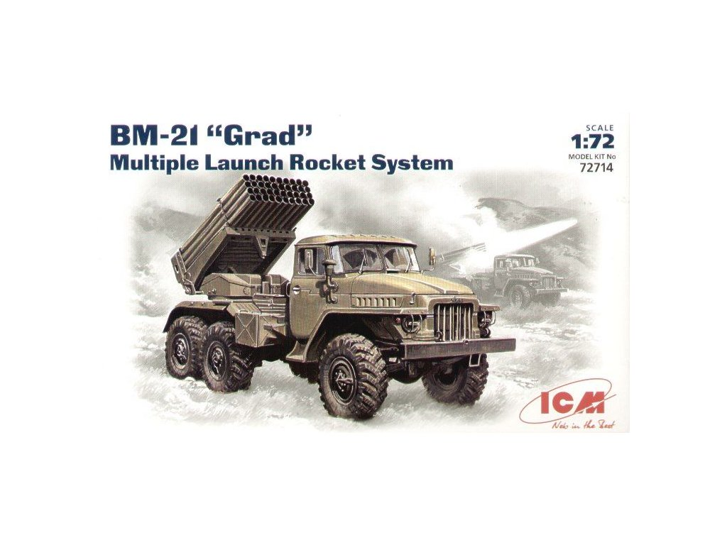 "BM-21 ""Grad"", Launch Rocket System 1:72"