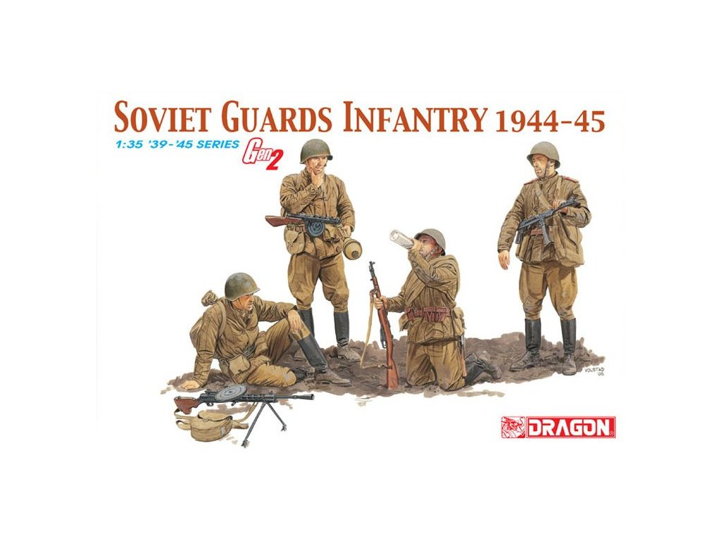 Sovietská stráž / Soviet Guards Infantry 1944-45 1:35