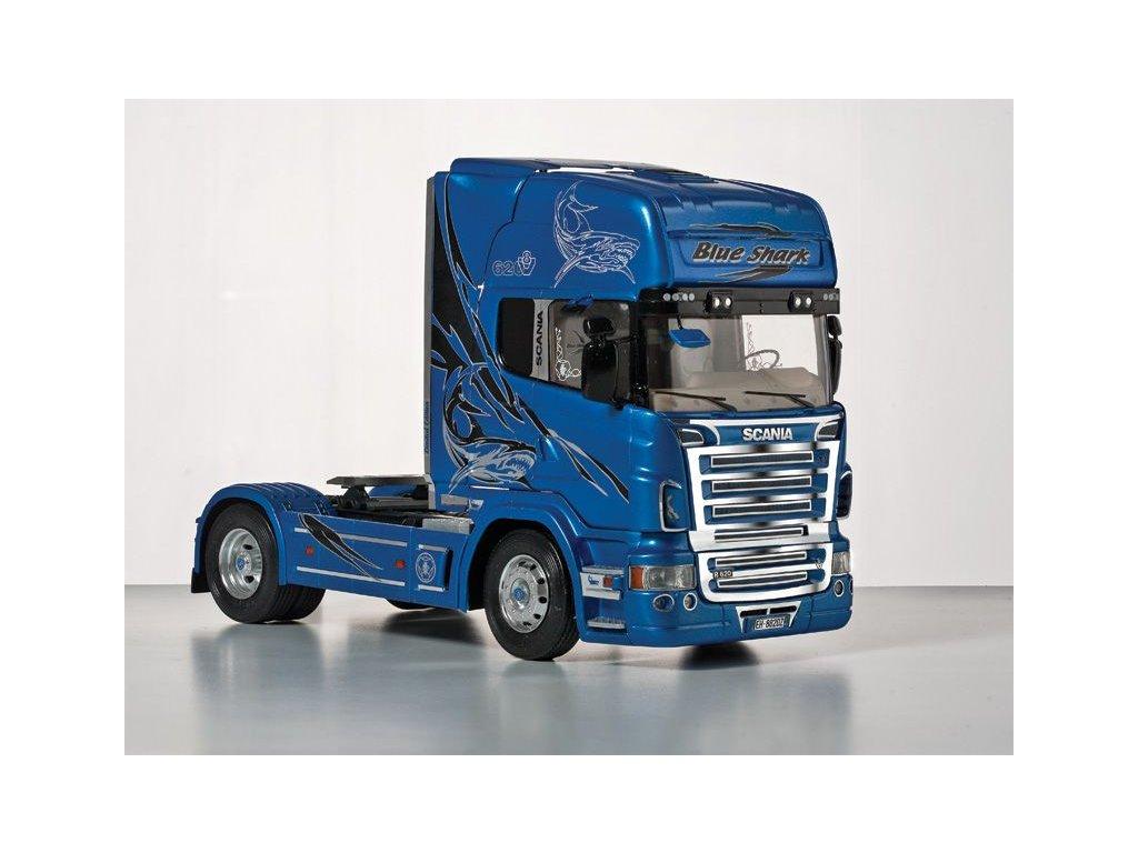 Scania R620 Blue Shark 1:24