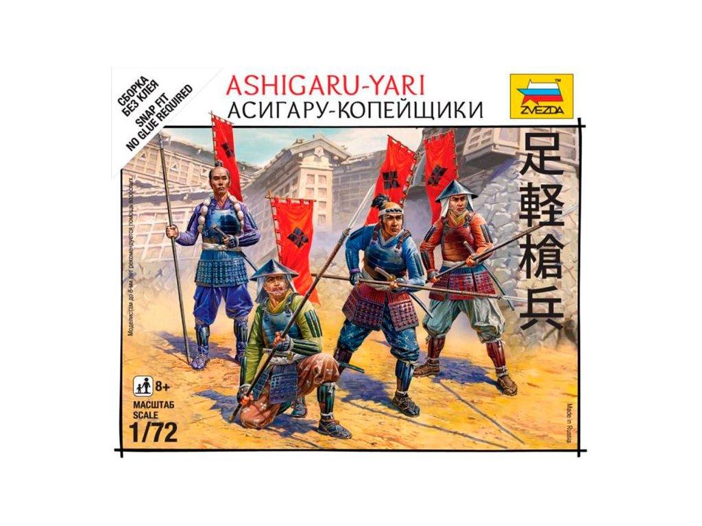 Japonskí samuraji / Ashigaru-Yari 1:72