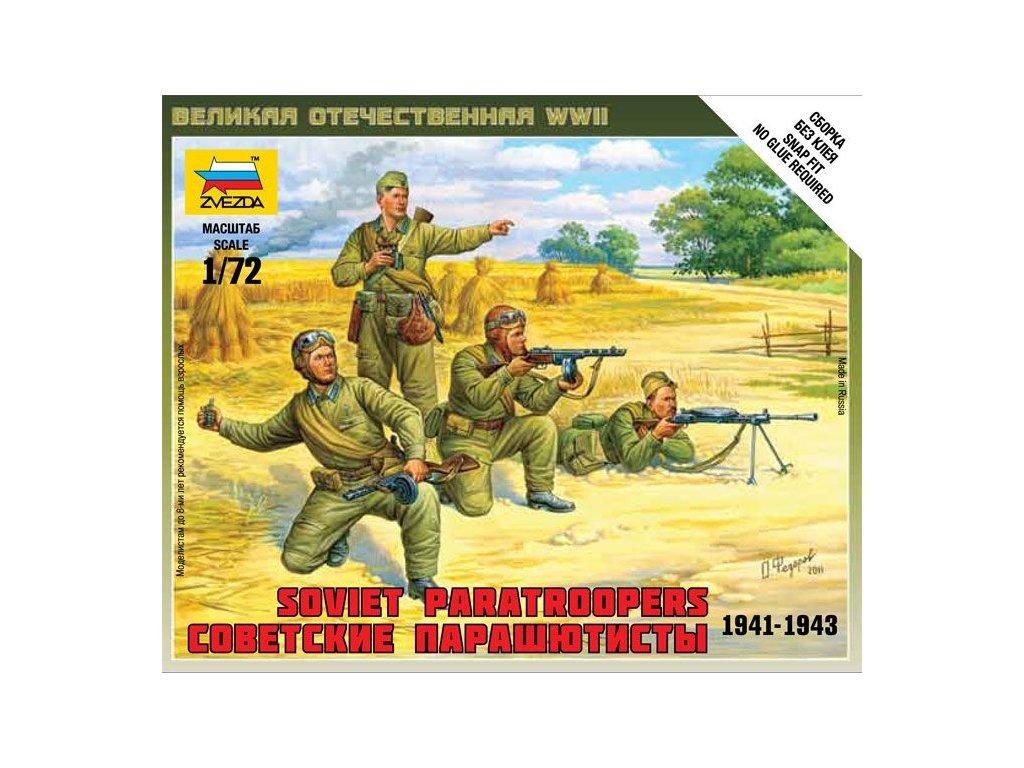 Sovietskí parašutisti / Soviet Paratroopers 1941-43 1:72