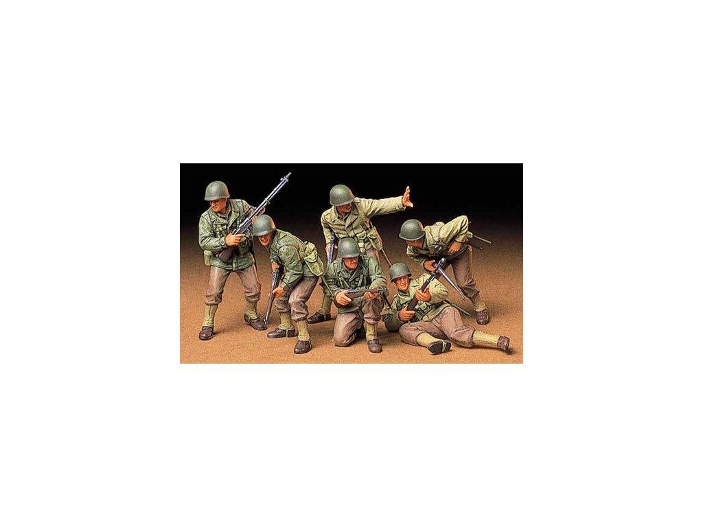 US Army Assault Infantry / útočna jednotka 1:35
