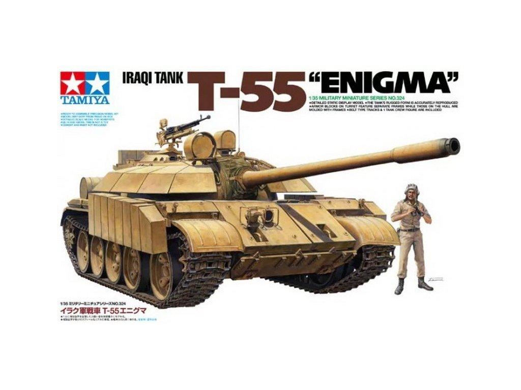 """Iraqi Tank T-55 """"Enigma"""" 1:35"""