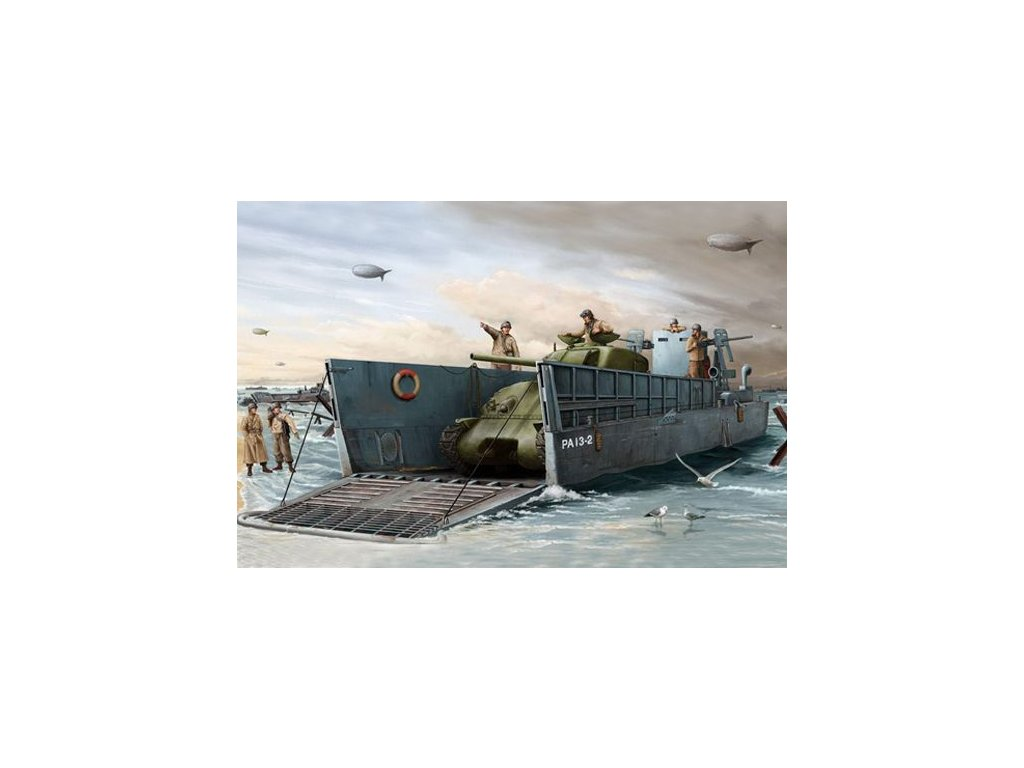 WWII US Navy LCM(3) 1:35