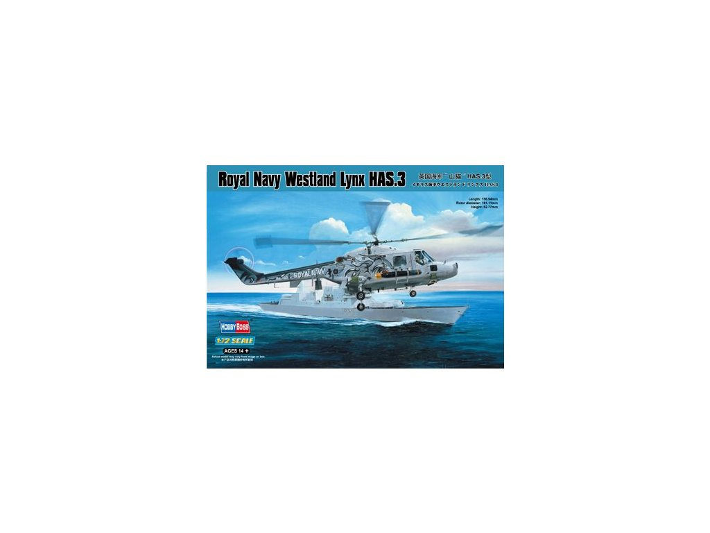 Royal Navy Westland Lynx HAS 3 1:72