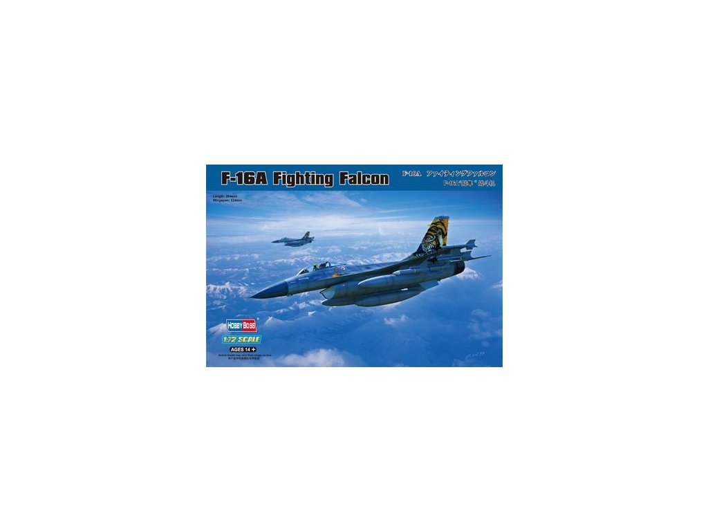 General Dynamics F-16A Fighting Falcon 1:72