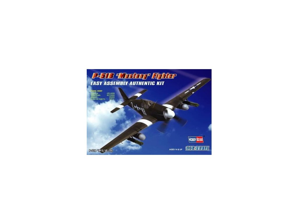 North American P-51B Mustang 1:72