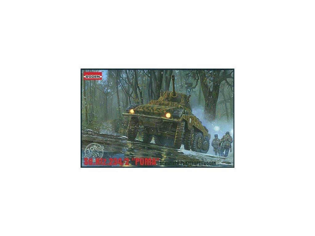 Sd. Kfz. 234/2 Puma 1:72