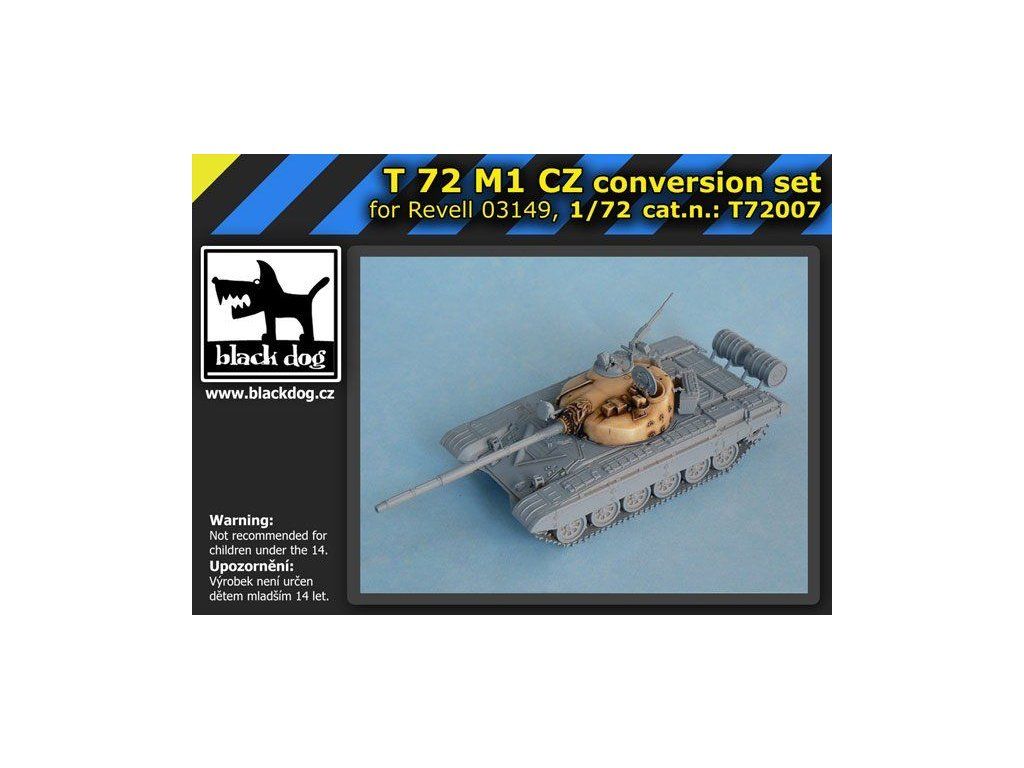 T72 M1 CZ - conversion set (Revell) 1:72