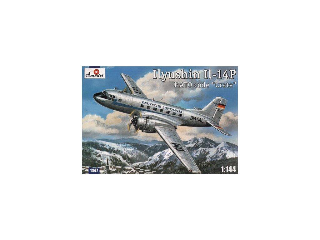Ilyushin Il-14P Deutsche Lufthansa (Nato code 'Crate') 1:144