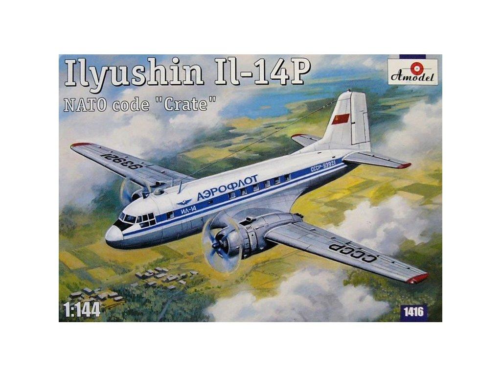 Ilyushin IL-14P Crate (Aeroflot) 1:144