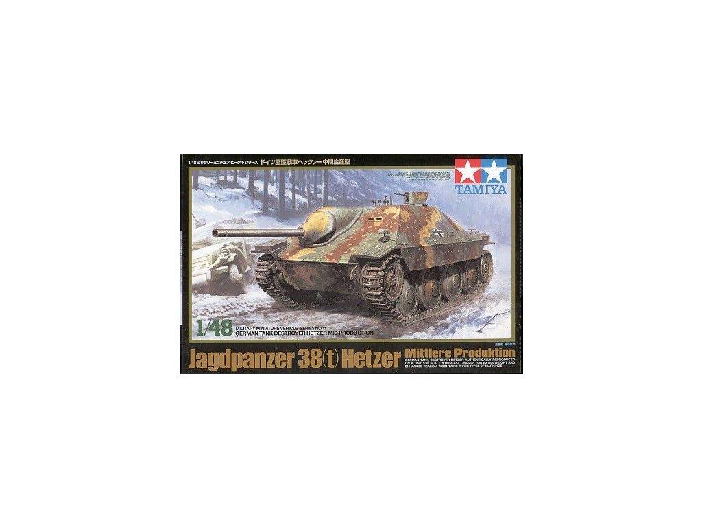 Jagdpanzer 38(t) Hetzer (mid) 1:48