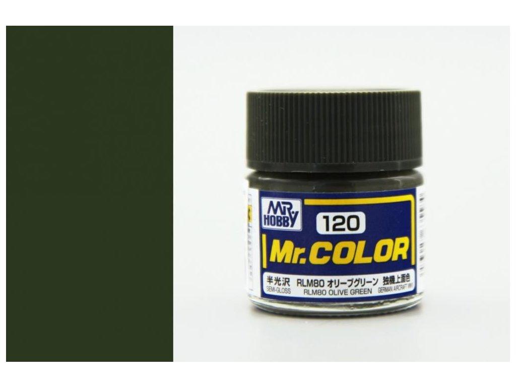 C120 RLM80 Olive Green - Olivovo zelená