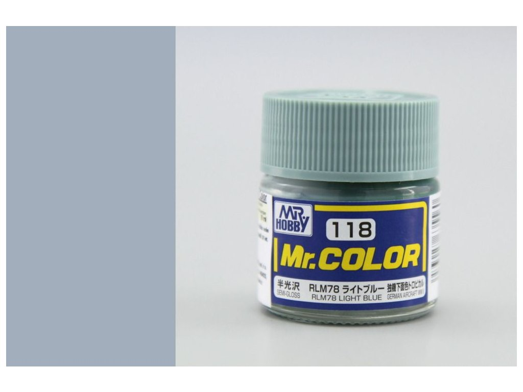 C118 RLM78 Light Blue - Svetlá modrá