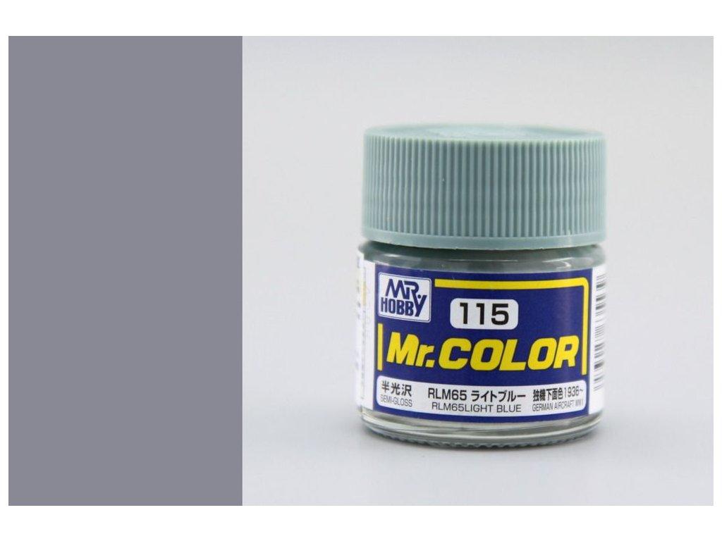 C115 RLM65 Light Blue - Svetlá modrá
