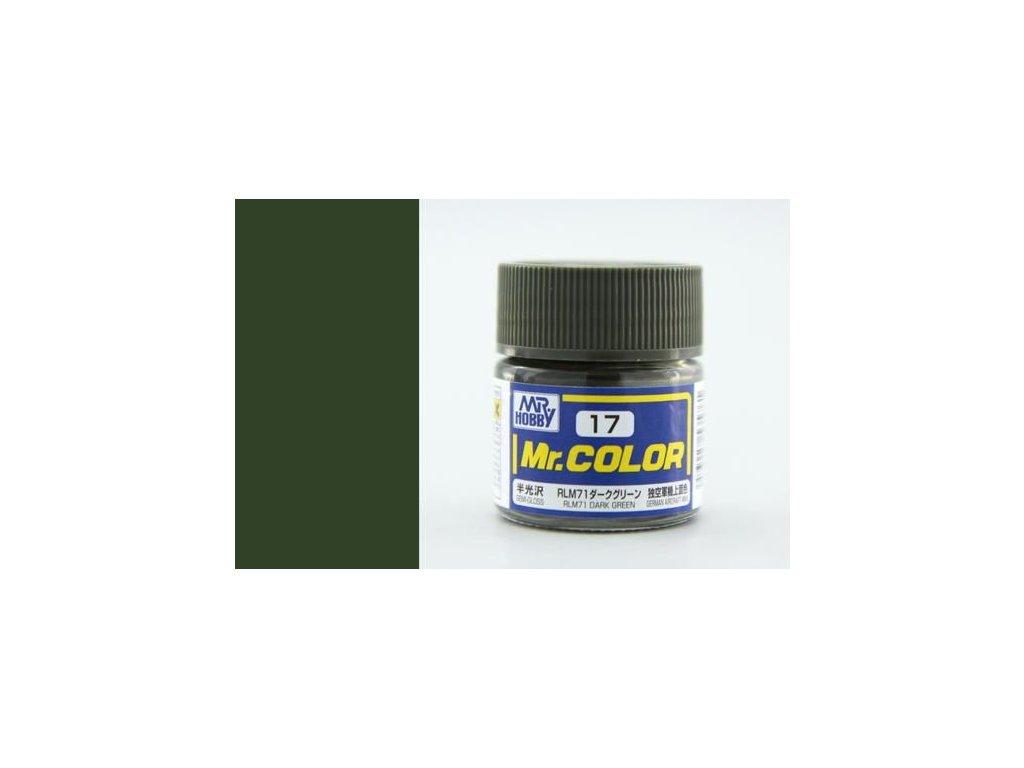 C017 RLM71 Dark Green - Tmavá zelená