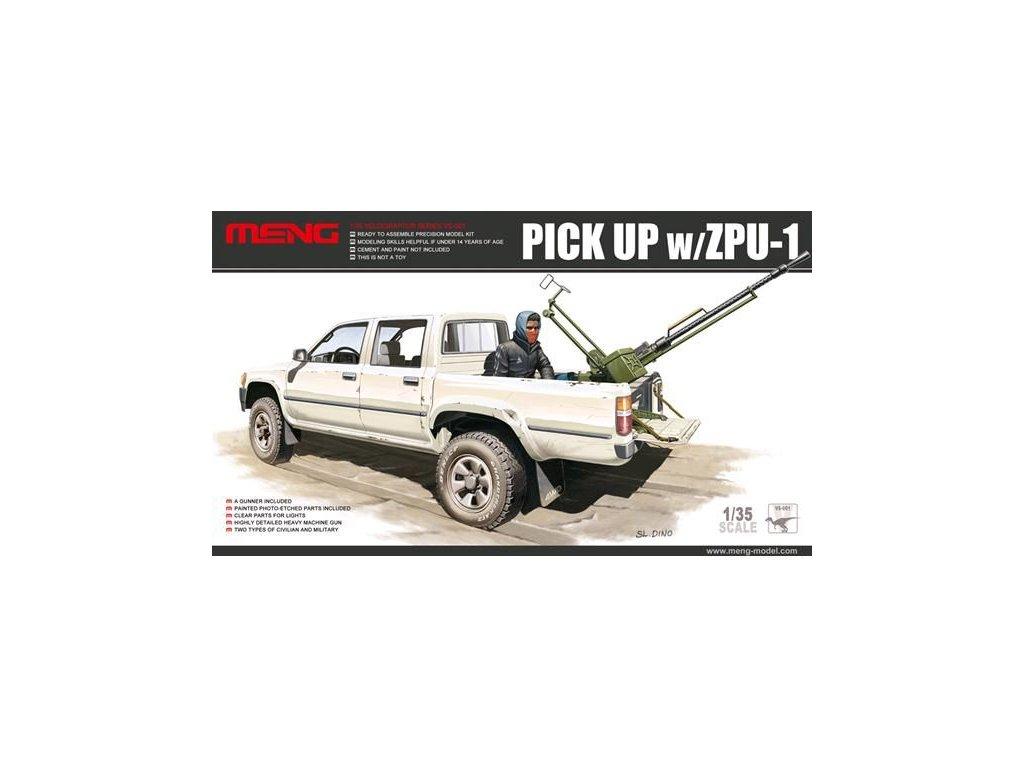Pick Up with ZPU-1 1:35