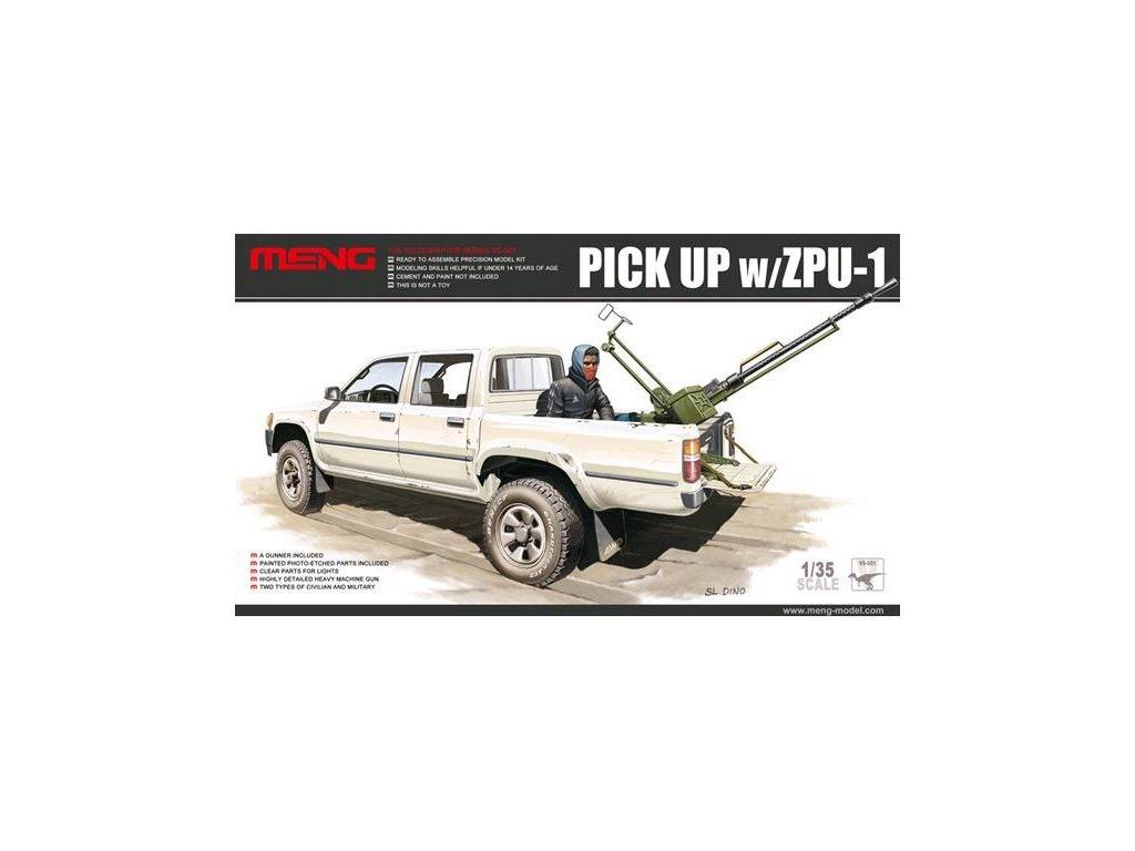 Pick Up with ZPU-1 1:35