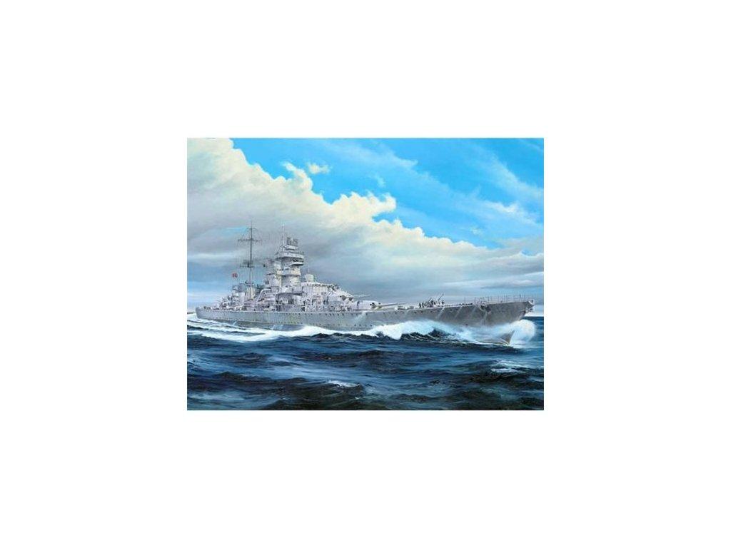 Nemecký krížnik Prinz Eugen 1945 1:350