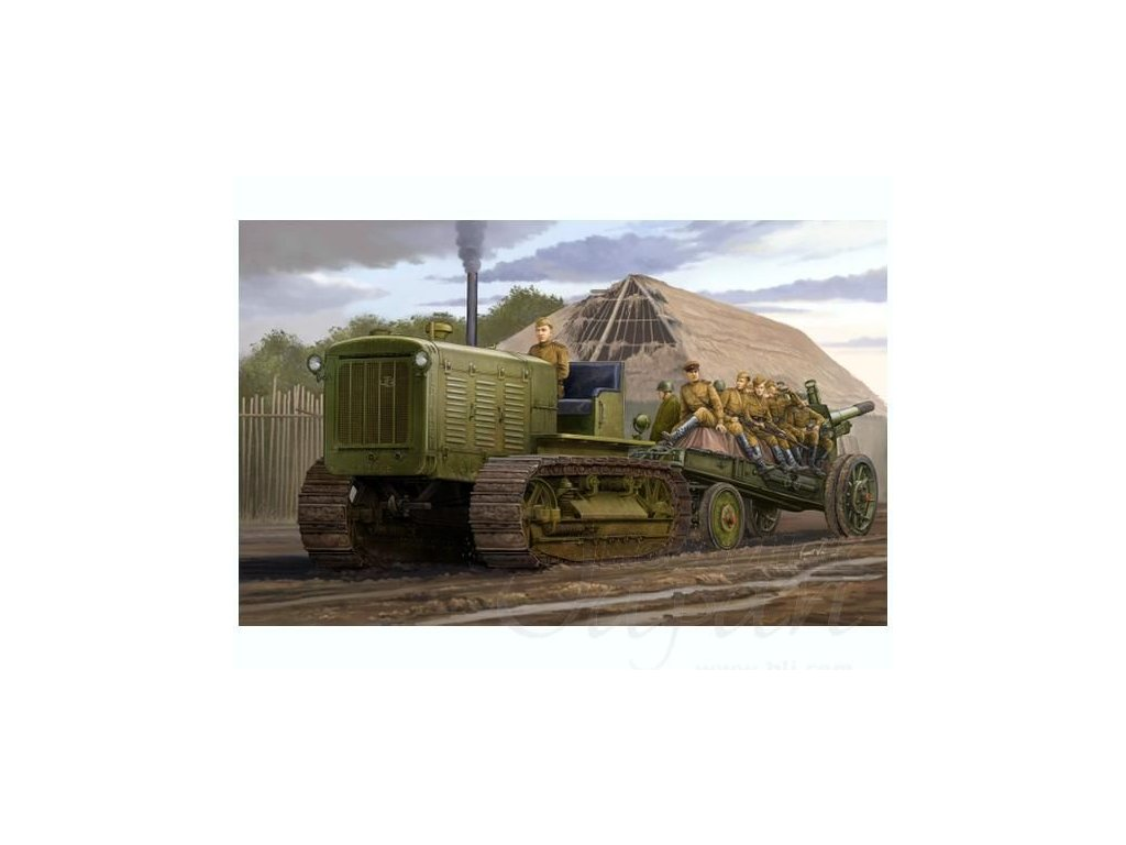 Russian ChTZ S-65 Tractor 1:35