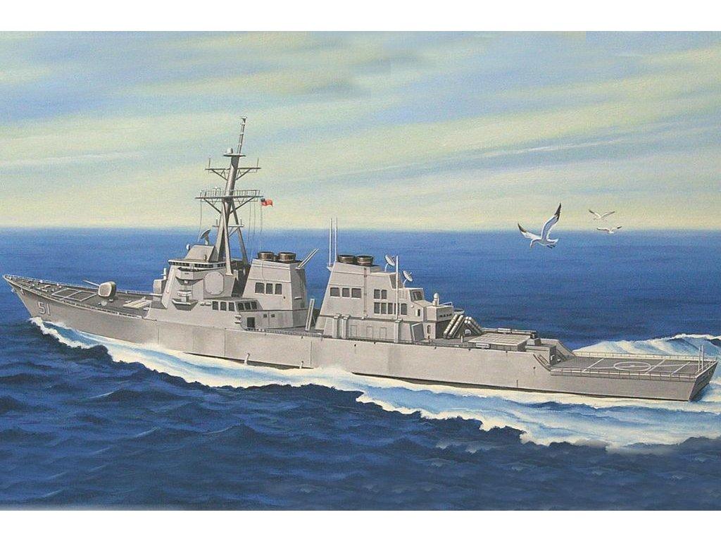 USS Arleigh Burke DDG-51 1:700