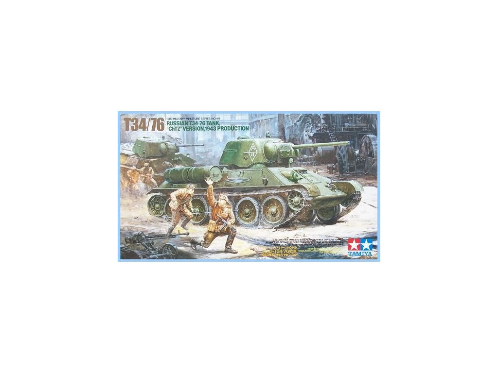 "T-34/76 ""ChTZ Version"" LL 1:35"