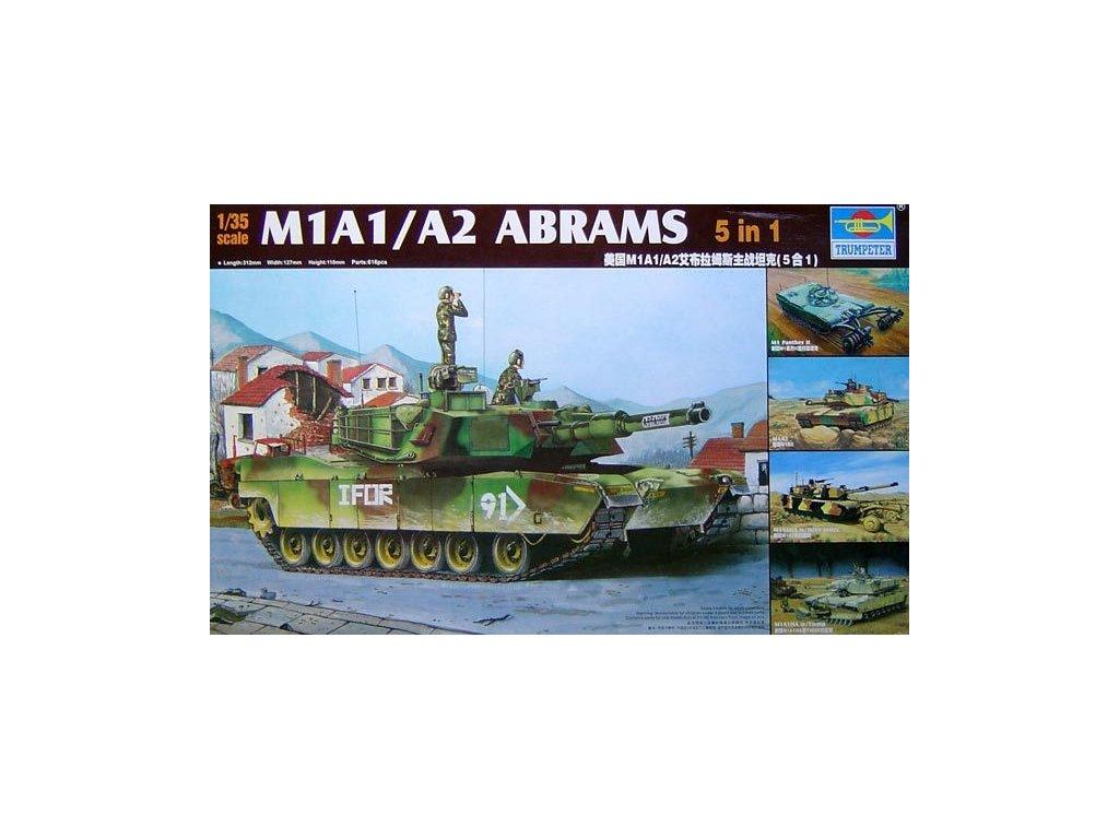 M1A1/A2 Abrams 5 in 1 1:35