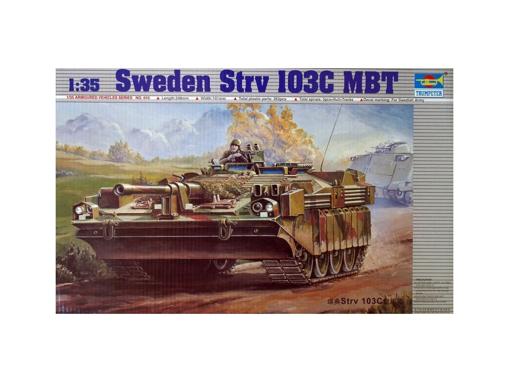 Sweden Strv 103C MBT 1:35